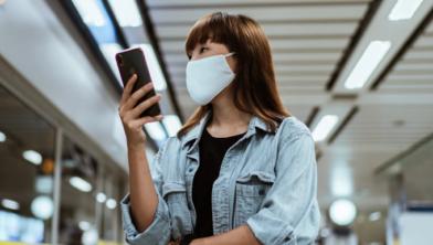 Let op: mondkapjes zijn verplicht in het openbaar vervoer