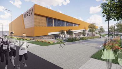 De bouw van de WRZV-hallen is van start gegaan