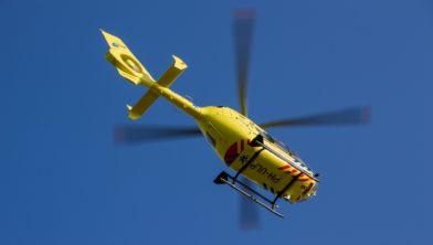 Traumahelikopter ingezet (foto ter illustratie)