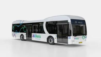 De nieuwe elektrische bus van Keolis