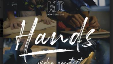 Meedoen aan het nieuwe project: hands van Morgendust