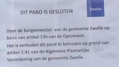 Burgemeester Peter Snijders sluit weer drugspand