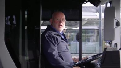 Buschauffeurs zijn al in training voor de elektrische bussen