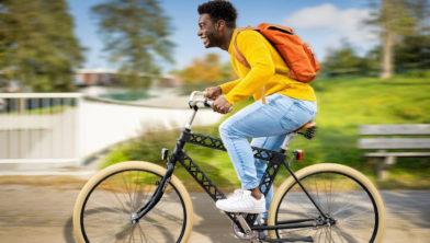 Straks lekker op de fiets naar het station en veilig geparkeerd