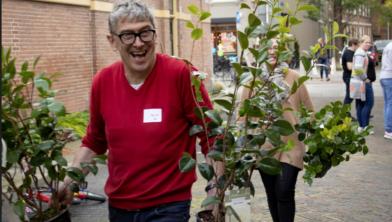 De Groene Loper Zwolle helpt bij vergroening in de stad