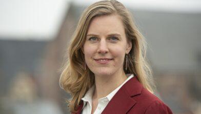 Dorrit de Jong heeft vandaag haar eerste werkdag in Zwolle