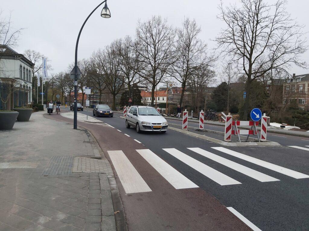 fietser burgemeester van Roijnsingel