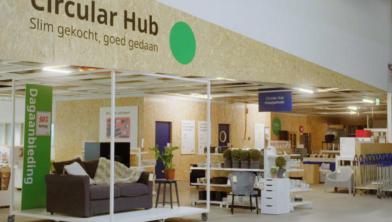 De 'Circular Hub' van Ikea