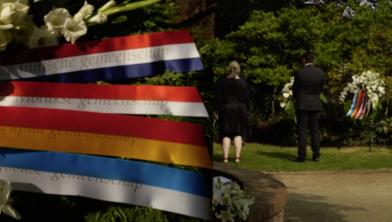 Herdenking Indië- en Nieuw Guinea-monument in Park Eekhout