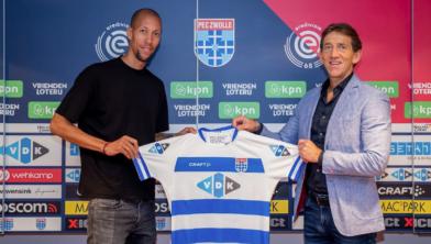 De ervaring van Ryan Koolwijk (links) kan PEC Zwolle goed van pas komen