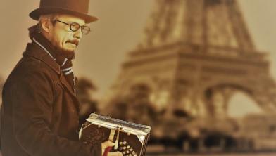 Klanken van Parijs van Tony Pezzanov