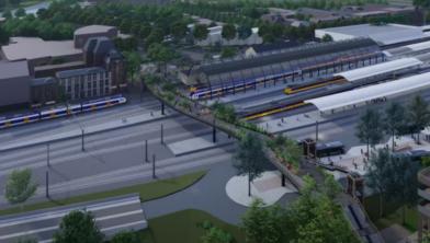 Zwolle krijgt over twee jaar een Passerelle over het spoor