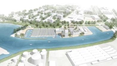 Overzicht van de plannen bij het Zwartewater