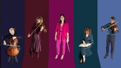Linda Speulman en de strijkers van het Rietveld ensemble