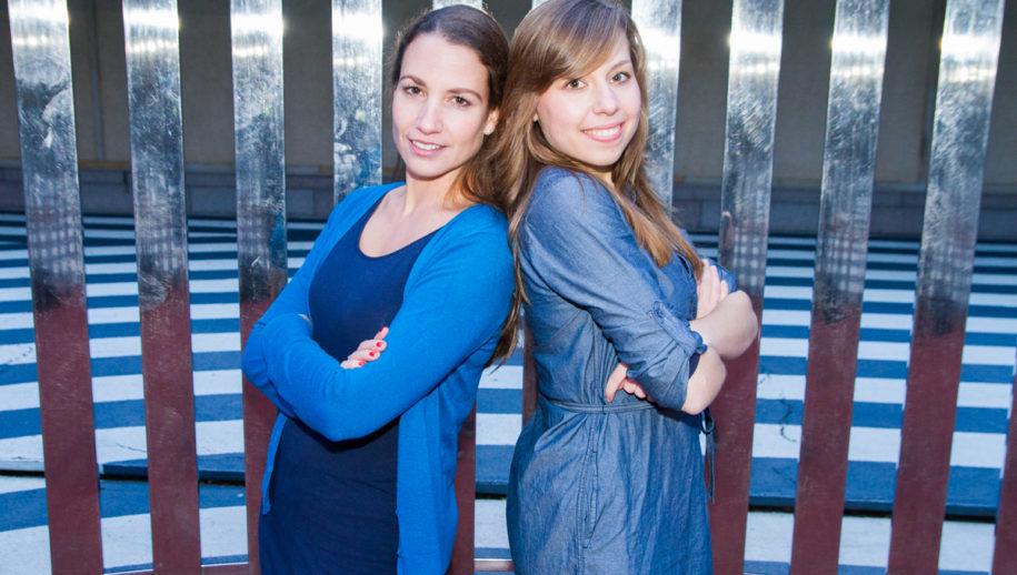 Lisanne (l) en Chantal (r)