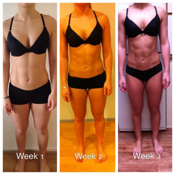 fitness schema 3 dagen