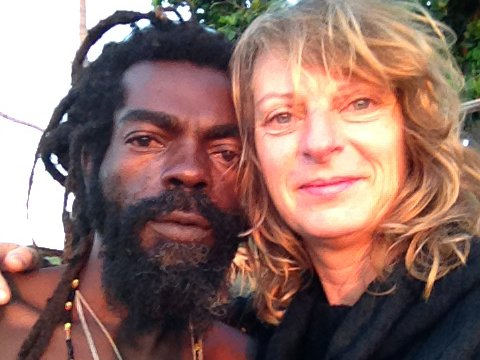 Rappa Rasta en Sandra - Foto: Sandra Smith