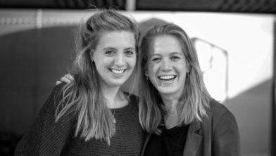 Links: Rachel Heikamp. Rechts: Joanne van Altena.