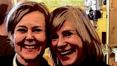 Marie-Louise Polm en Jolanda Hillebrand