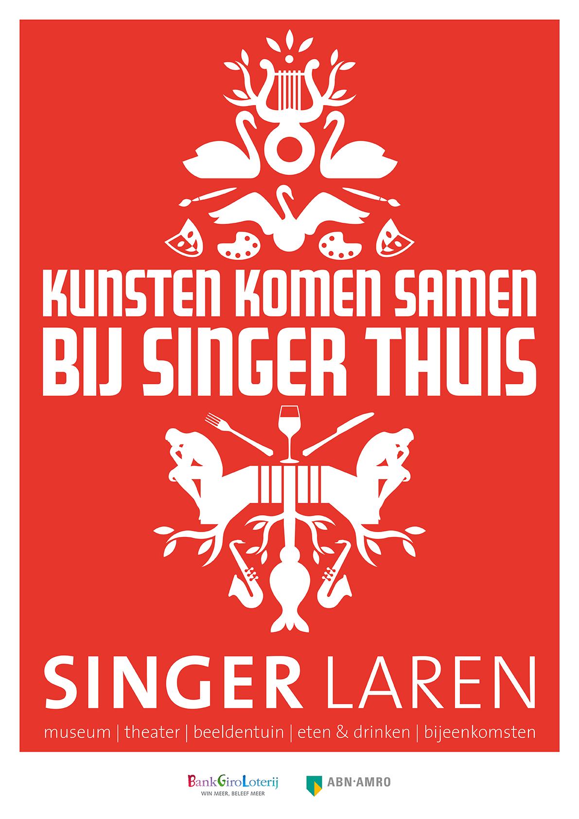 Singer Laren thuis
