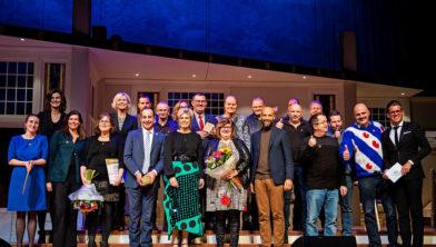 De prijsuitreiking van de Taalhelden 2018 met prinses Laurentien.