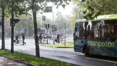 Nederland, Noordholland eind oktober 2017 Busvervoer in Noordholland tbv Beeldbank provincie Noordholland COPYRIGHT DIGITAL IMAGE 2017 BAS BEENTJES