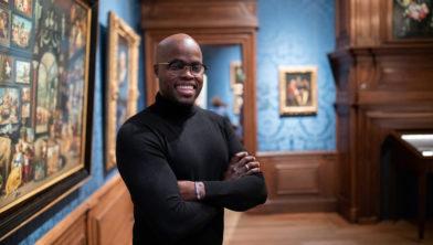 Jandino Museumdirecteur