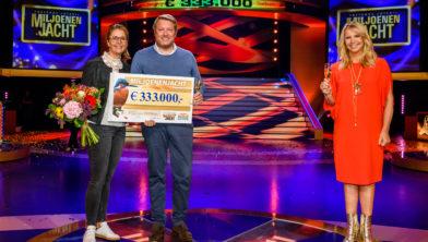 Thijs (33) uit Laren wint 333.000 euro bij tv show miljoenenjacht