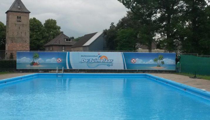Buitenzwembad de tuimelaar in ewijk open