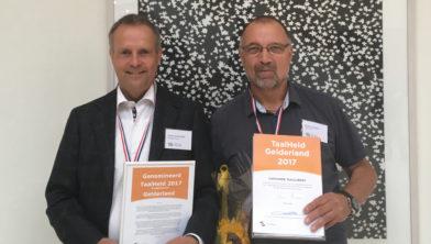 Hans Driessen (L) en Hans Kasser (R).