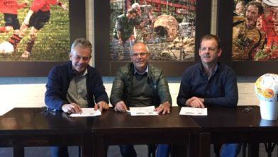 Herman van der Linde Geertjesgolf, Willy Koolhout Roda'28 en René Willems Willems Winssen.