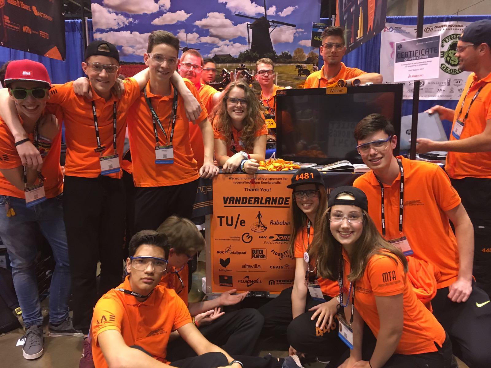 Kwartfinale voor roboticateam Zwijsen - Meierijstad