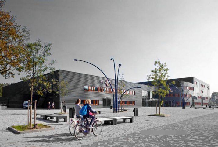 Team Rembrandts luncht met directeur Zwijsen College - Meierijstad