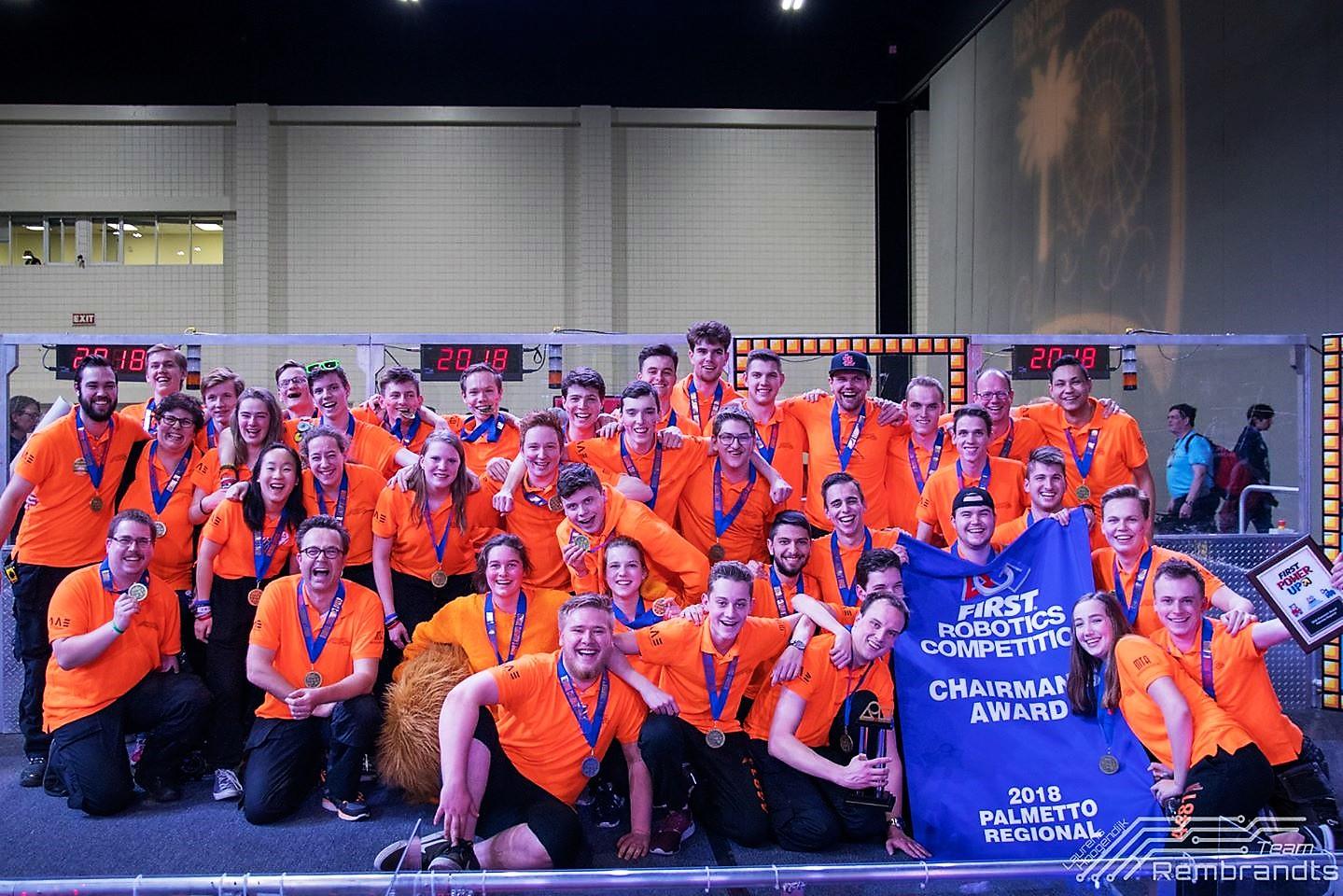 Leerlingen Zwijsen College naar Wereldkampioenschappen FIRST Robotics Competition in Detroit! - Meierijstad
