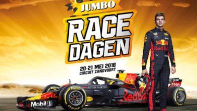 Verstappen Ricciardo En Coulthard Bij Jumbo Racedagen