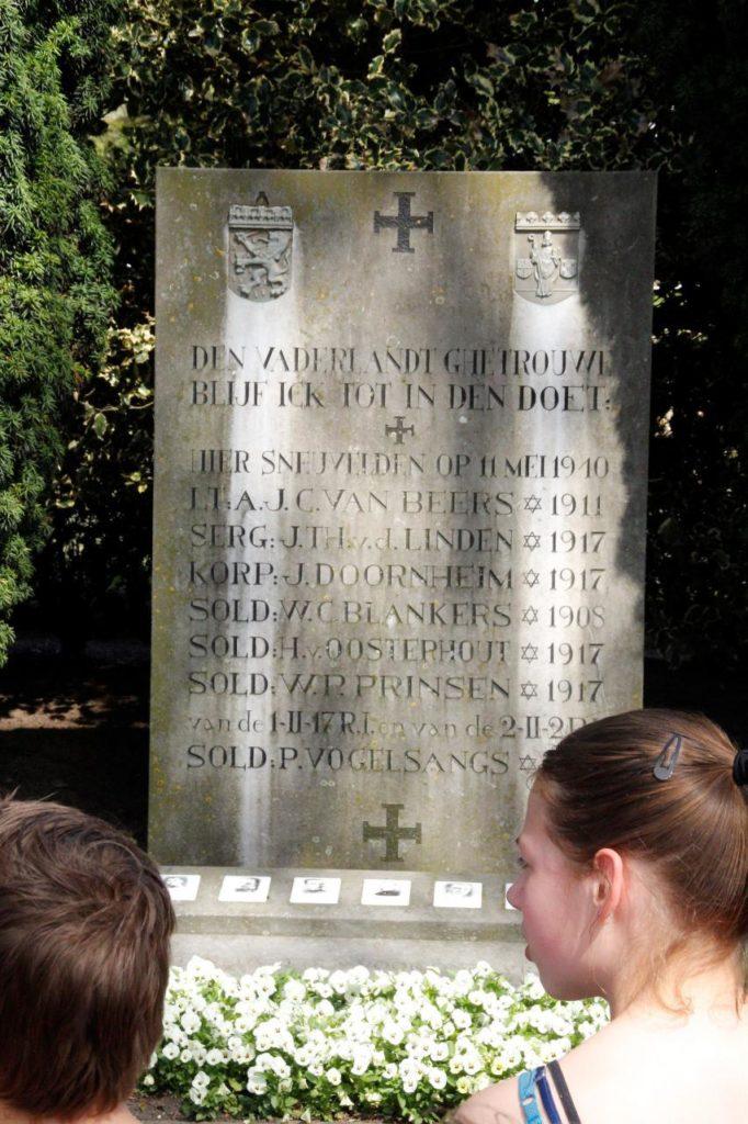 Herdenking monument Zijtaart 19-04-2018