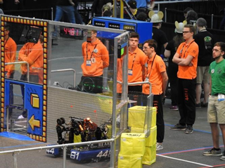 Uitstekende start Team Rembrandts FRC World Championship in Detroit - Meierijstad