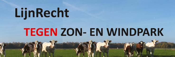 logo LijnRecht TEGEN Zon- en Windpark