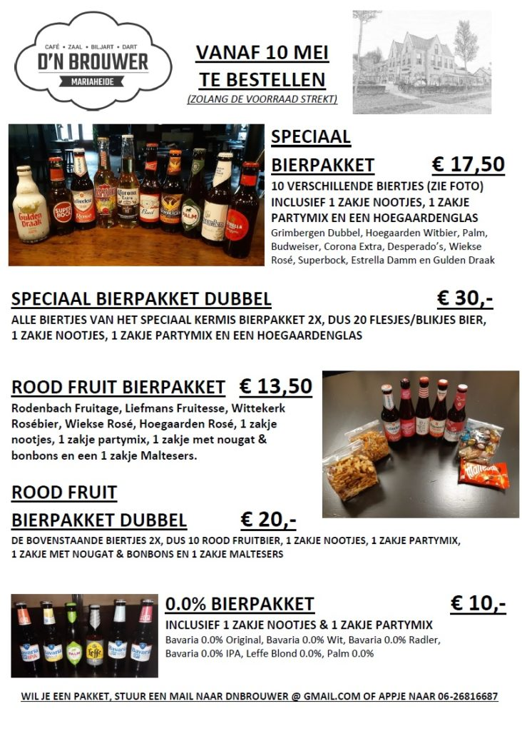Flyer Bierpakket week 20