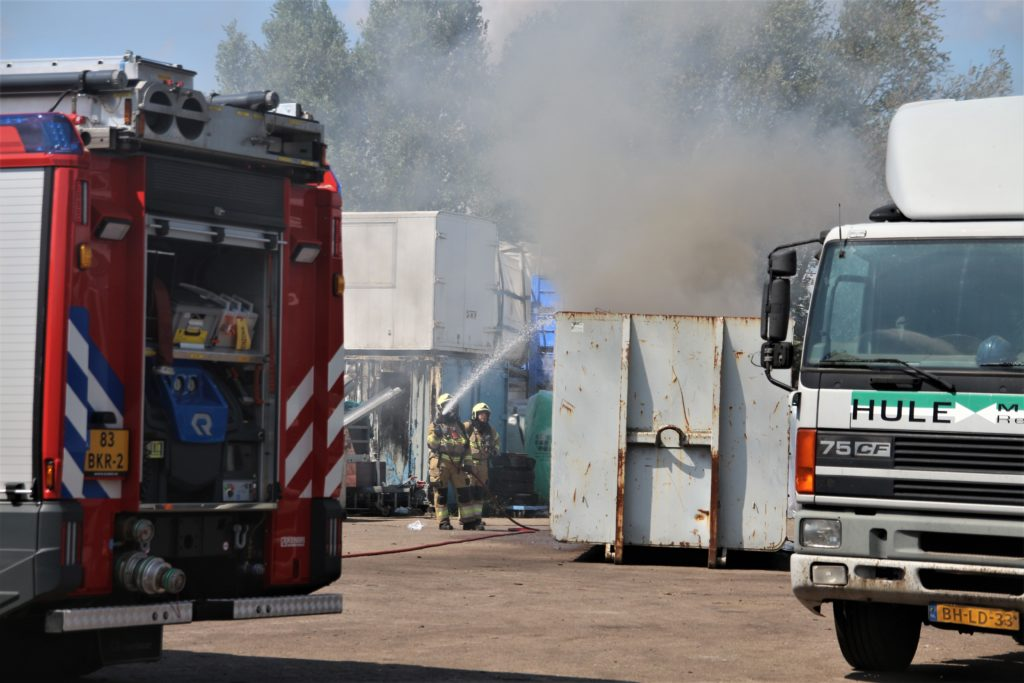 02-08-2020 Containerbrand Veghel 03