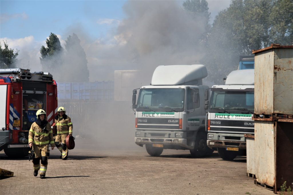 02-08-2020 Containerbrand Veghel 02