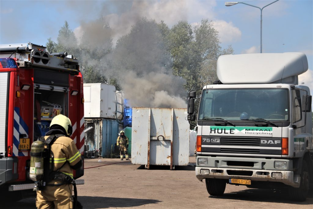 02-08-2020 Containerbrand Veghel 01