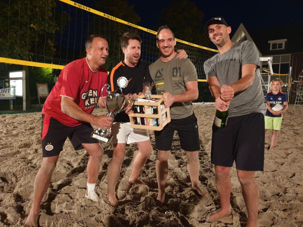 12-09-2020 Winnaar Beachvolleybal De Gekko's - team Geen Keus
