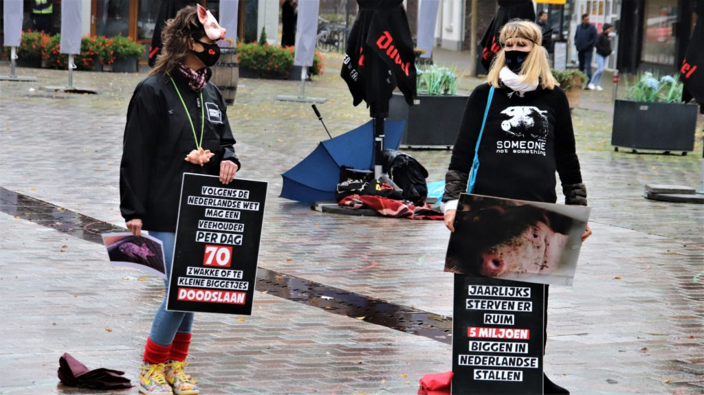 24-10-2020 Protest dierenleed