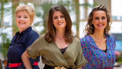 Margreet Hoekstra (T-Mobile), Jolanda van Gerwe (Join us) en Tisha van Lammeren (T-Mobile)