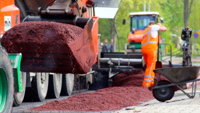 Nieuw asfalt in aantocht