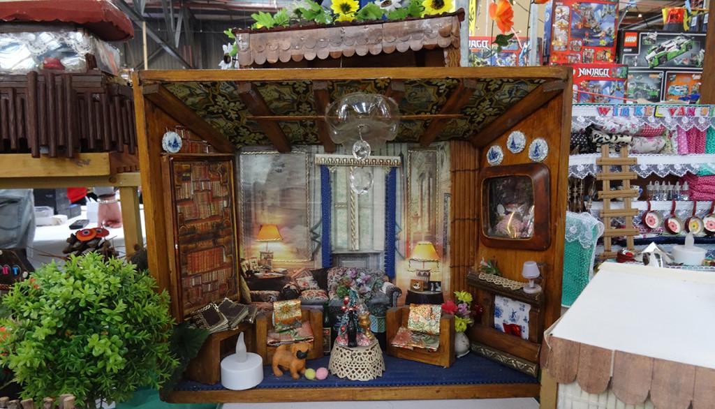 Miniatuurhuisjes - Bazaar1