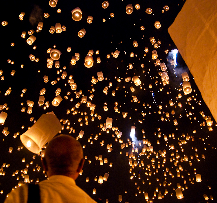 wensballonnen thailand