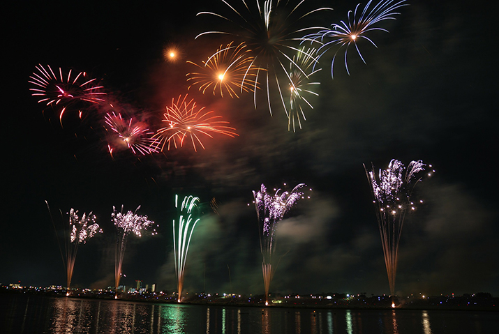 Door overheid betaalde vuurwerkshows (Foto: Pixabay)