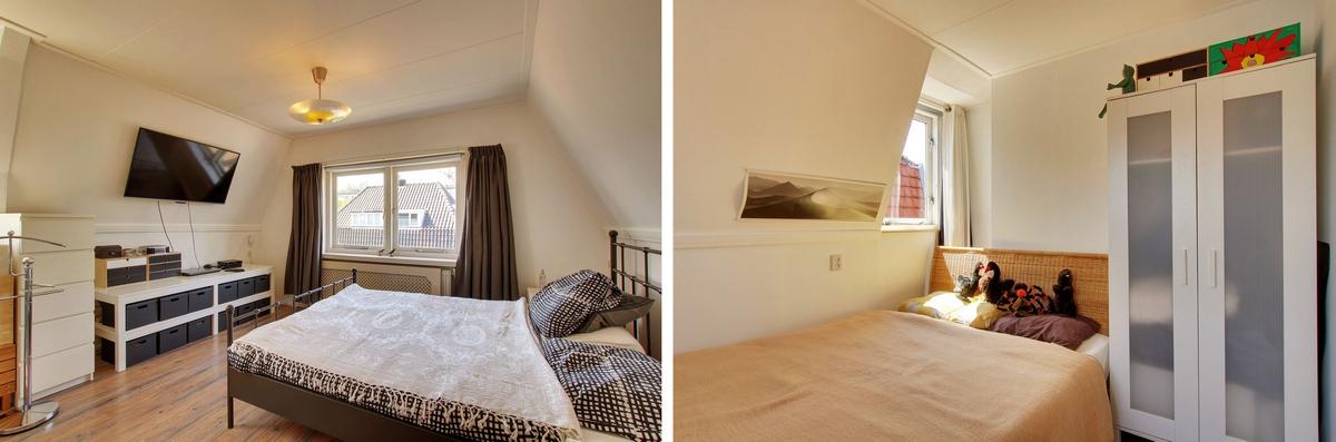 Twee slaapkamers op eerste etage